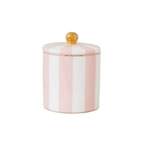 Candle Blush Stripe