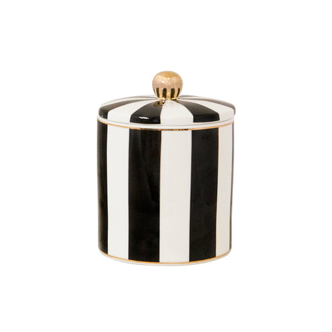 Candle Ebony Stripe - Cristina Re Design