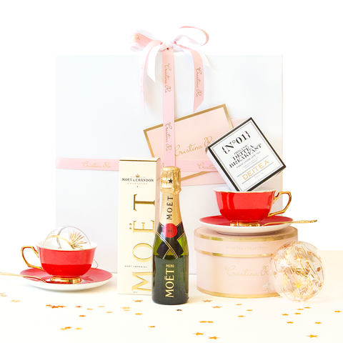 Christmas Hamper - Ruby Red