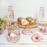 Cake Stand Rose Glass - Cristina Re Design