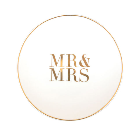 Mr and Mrs Trinket Dish