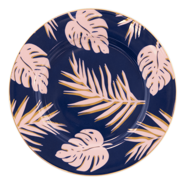 Side Plate Blue Lagoon - Cristina Re Designs