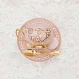 Teacup Georgia Lace Blush - Cristina Re Design