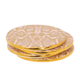 Safari Snakeskin Set of 4 Drink Coasters - Cristina Re Designs