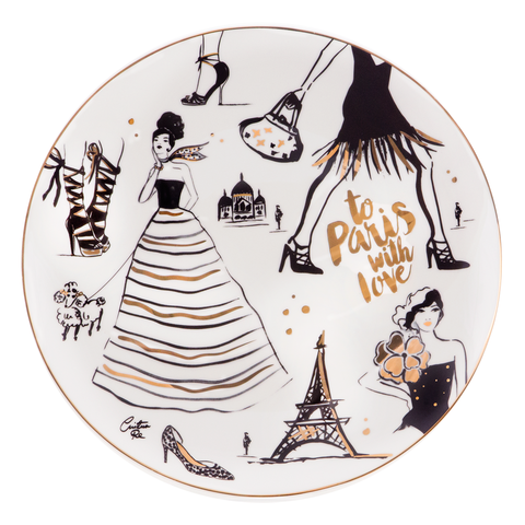 Platter To Paris With Love