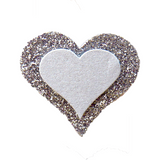 Heart Silver - Cristina Re Designs