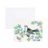 A6 Card and Envelopes Bluebird Floral PK10