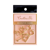 Decorative Charms - Gold Keys PK5 - Cristina Re Design