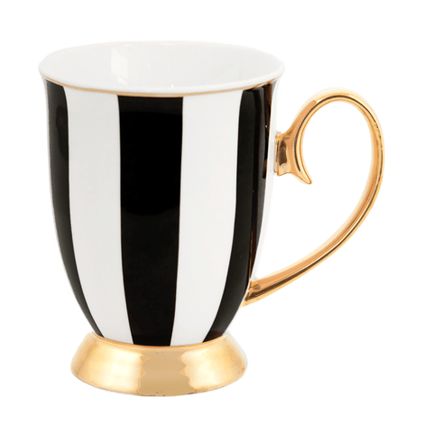 Mug Ebony Stripes - Cristina Re Designs