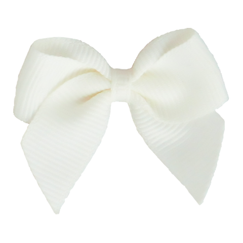 Grosgrain Bows Ivory - Cristina Re Designs