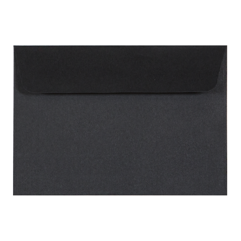 C6 Envelope Linen Ebony (10 pack) - Cristina Re Design