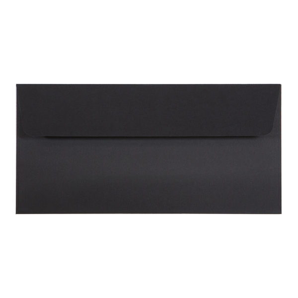 DL Envelope Linen Ebony (10 pack) - Cristina Re Designs