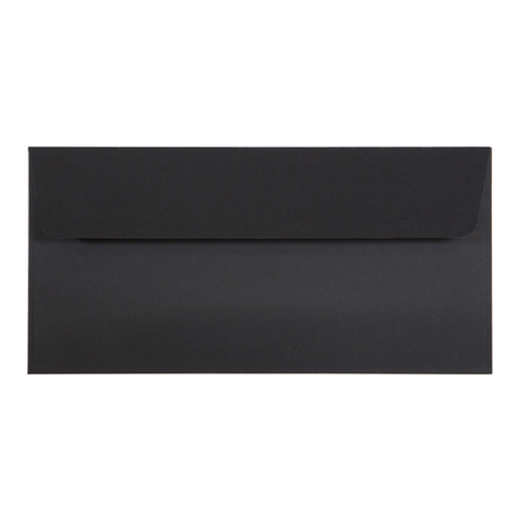 DL Envelope Linen Ebony (10 pack) - Cristina Re Design