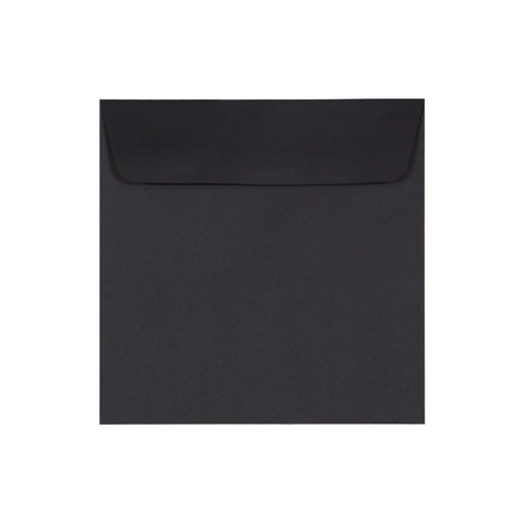 SQ Envelope Linen Ebony (10 pack) - Cristina Re Design