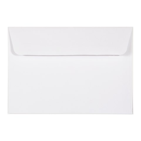 C6 Envelope Linen Ivory (10 pack) - Cristina Re Design