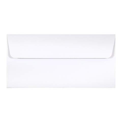 DL Envelope Linen Ivory (10 pack) - Cristina Re Designs