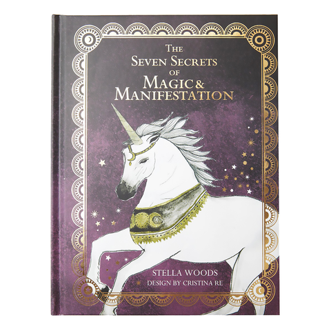 The Seven Secrets of Magic and Manifestation Book - Cristina Re Designs