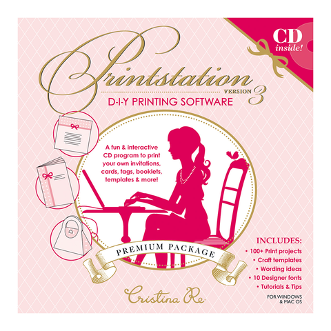 Printstation 3 CD - Cristina Re Designs