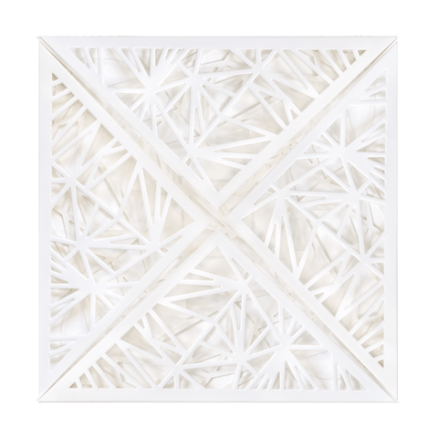 SQ Lasercut Wallet Quartz White PK5 - Cristina Re Designs