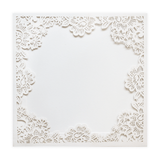 SQ Floral Frame Pocket - Cristina Re Design