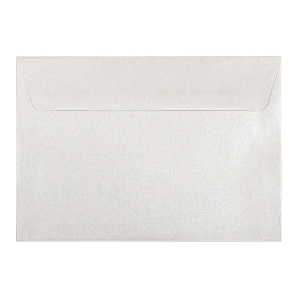 C6 Envelope Shimmering Pearl (10 pack) - Cristina Re Design