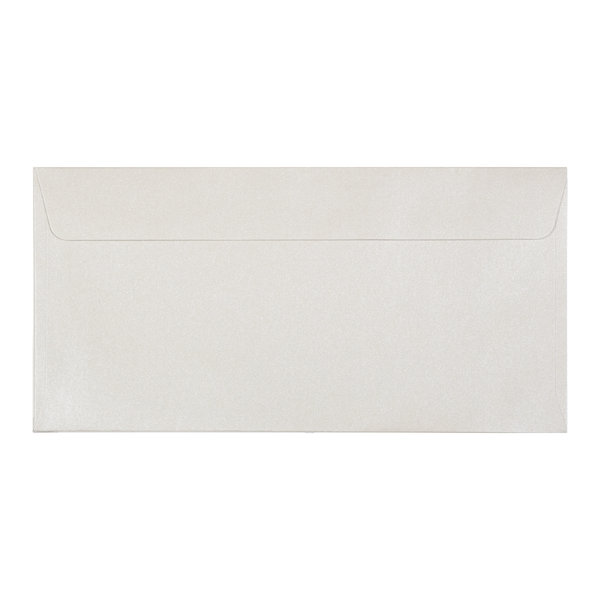 DL Envelope Shimmering Pearl (10 pack) - Cristina Re Designs