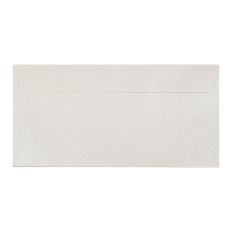 DL Envelope Shimmering Pearl (10 pack) - Cristina Re Design