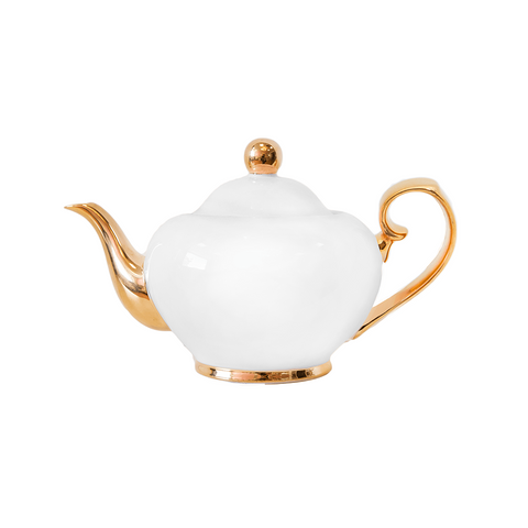 Ivory Teapot - 2-Cup - Cristina Re Designs