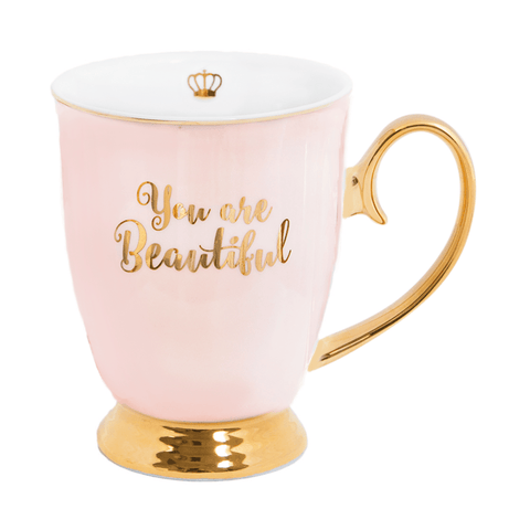 Mug You Are Beautiful Blush - Cristina Re Design