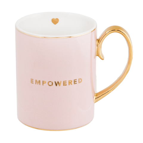 Mug Empowered Blush - Cristina Re Designs