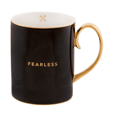 Mug Fearless Ebony - Cristina Re Design