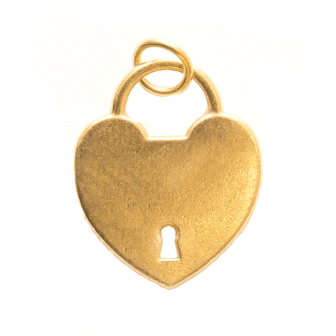 Decorative Charms - Heart Locket Gold - Cristina Re Design