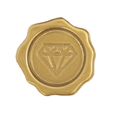 Wax Inspired Diamond Gold
