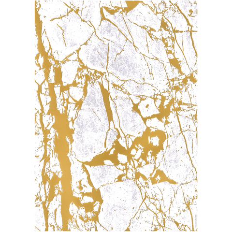A4 Paper Crystalline Gold Embossed