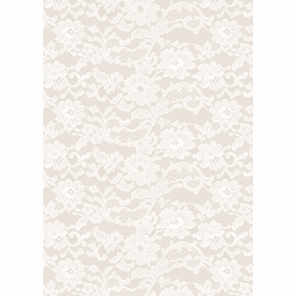A4 Paper English Lace Pearl