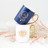 Dreamcatcher - Mug - Navy & Gold - Cristina Re Design