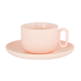 "Celine ""Every Day"" Teacup & Saucer - Pink"