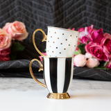 Polka Gold Ivory Mug - Cristina Re Design