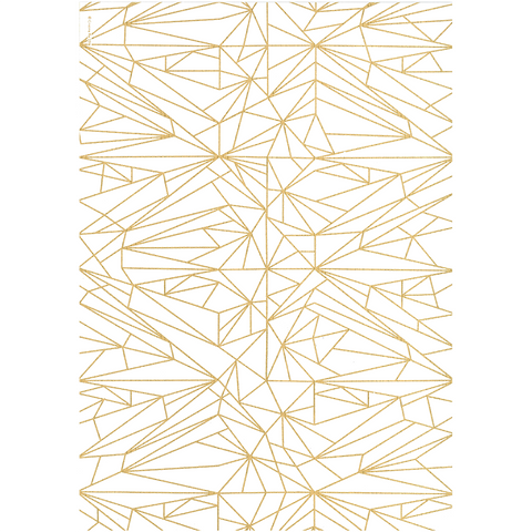 A4 Paper Quartz Gold Foiled - Cristina Re Design