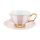 Teacup Blush Stripes