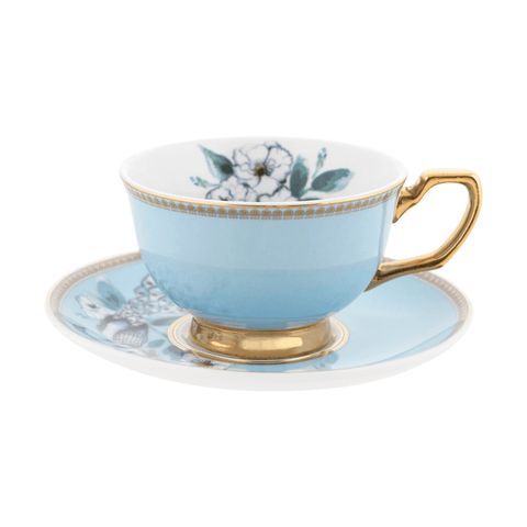 Teacup Peacock Garden - Cristina Re Designs