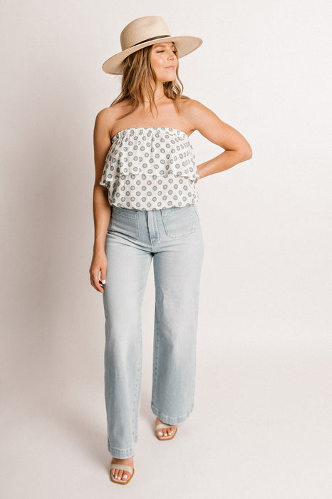 CAMI BLOUSE-IVORY