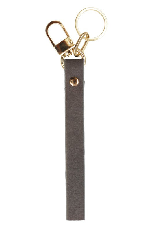 ISA KEY CHAIN-GREY