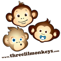 Three LiL Monkeys
