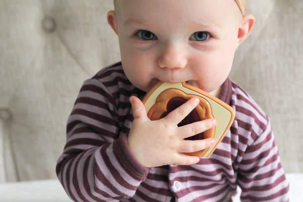 PB & J Teether - Three LiL Monkeys Three LiL Monkeys