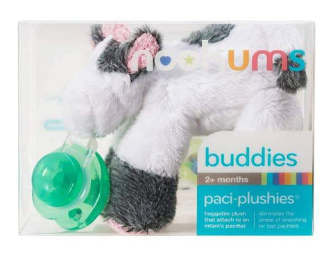 Paci-Plushies Buddies- Cutsie Cow - Three LiL Monkeys Three LiL Monkeys