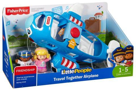 Fisher Price Little People Travel Together Airplane - Three LiL Monkeys Three LiL Monkeys