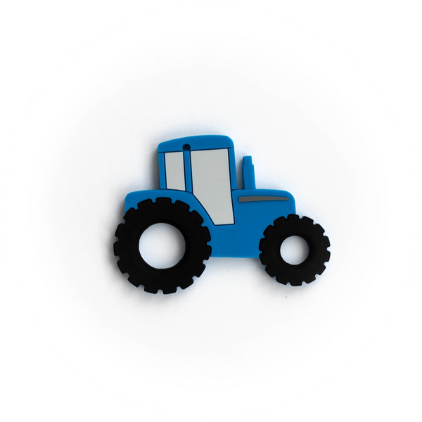 Tractor Teething Pendant