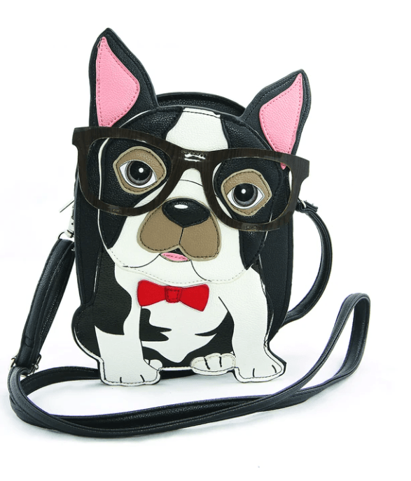 Geeky Boston Terrier Purse