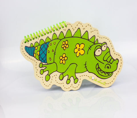 Alligator Note Pad - Three LiL Monkeys Three LiL Monkeys